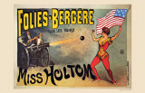Folies-Bergeres  Miss Holtom