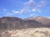 Black Mountains Landscape  Death Valley  California  USA