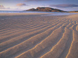 Sand Patterns on the Beach Coll Inner Hebrides  Scotland  UK