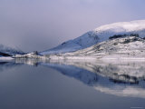 Loch Mullardoch  Glen Cannich  Winter in the Highlands  Scotland Upland Lochs  Snow  Lakes