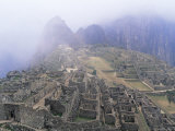 Panoramic View of Machu Picchu  Peru  South America