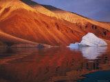 Melting Iceberg on Coast Qaanaaq  Greenland