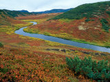 The Upper Shumnaya River Starts in the Caldera of the Uzon Volcano  Russia