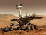 Artist&#39;s Rendition of Mars Rover