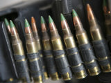Belted Bullets for an M-249 Squad Automatic Weapon