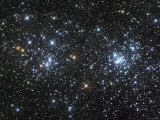 The Double Cluster  NGC 884 and NGC 869  as Seen in the Constellation of Perseus