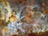 A 50-Light-Year-Wide View of the Central Region of the Carina Nebula