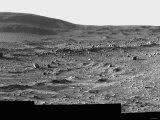 A Spectacular Field of Martian Sand Ripples and Husband Hill