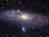 La galaxie d'Andromède Papier Photo par Stocktrek Images