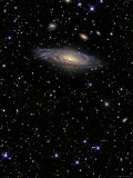 NGC 7331 is a Spiral Galaxy in the Constellation Pegasus