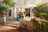 Sunlit Terrace