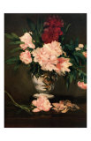 Vase de Pivoines  c1864