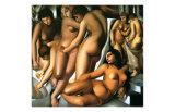 Bathing Women  c1929