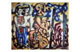 Composition aux Deux Perroquets  c1935