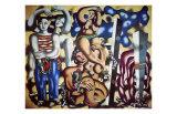 Composition aux Deux Perroquets  c1935