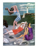 The Bathers  c1918