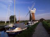 Horsey Windmill  Norfolk Broads  Norfolk  England  United Kingdom
