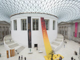 Great Court  British Museum  London  England  United Kingdom