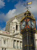 Little Ben Clock Tower  Victoria Palace Theatre  Victoria  London  England  United Kingdom