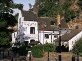 Ye Olde Trip to Jerusalem  the Oldest Inn in England  Nottingham  Nottinghamshire  England