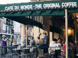 Cafe Du Monde  New Orleans  Louisiana  USA