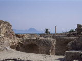 Antonine Baths  Carthage  Unesco World Heritage Site  Tunisia  North Africa  Africa
