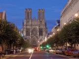 Cathedral of Notre Dame  Unesco World Heritage Site  Reims  Haute Marne  France