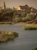 The Guadalquivir River and Alcazar  Cordoba  Andalucia (Andalusia)  Spain