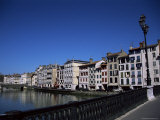 Bayonne on the River Adour  Pays Basque  Aquitaine  France