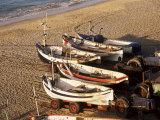 Fishing Boats  Cromer  Norfolk  England  United Kingdom