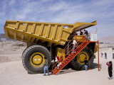Chuquicamate Copper Mine  Atacama Desert  Chile  South America