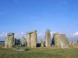 Stonehenge  Wiltshire  England  UK