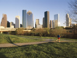 City Skyline  Houston  Texas  USA