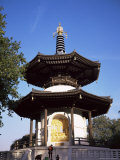 Japanese Peace Pagoda  Battersea Park  London  England  United Kingdom