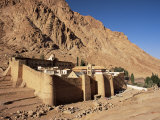 St Catherine's Monastery  Unesco World Heritage Site  Sinai  Egypt  North Africa  Africa