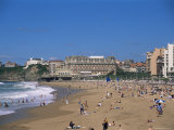 The Beach  Biarritz  Aquitaine  France