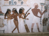 Tomb of Nakht  Valley of Nobles  Thebes  UNESCO World Heritage Site  Egypt  North Africa  Africa