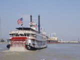 Mississippi Steam Boat  New Orleans  Louisiana  USA