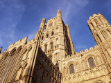 Ely Cathedral  Ely  Cambridgeshire  England  United Kingdom