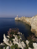 Europa Point Lighthouse  Gibraltar  Mediterranean
