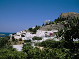 Lindos  Rhodes  Greek Islands  Greece