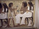 Tomb of Sennedjem  Deir El Medina  Thebes  Unesco World Heritage Site  Egypt  North Africa  Africa