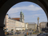 Old Center  Hauptplatz (Main Square)  Linz  Upper Austria  Austria