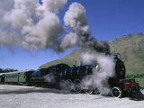 The Kingston Flyer Steam Train  South Island  New Zealand