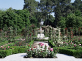 Rose Garden  Parque Del Retiro  Madrid  Spain
