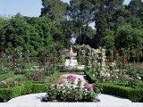 Rose Garden  Parque Del Retiro  Madrid  Spain