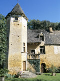 Chateau Du Lacy Pierre Dating from 15th to 17th Centuries  North of Sarlat-La Caneda  France