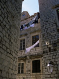 Washing Lines  Old Town  Dubrovnik  Croatia