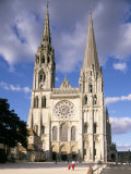 Chartres Cathedral  Unesco World Heritage Site  Chartres  Eure-Et-Loir  France