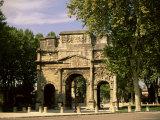 Arc De Triomphe  Unesco World Heritage Site  Orange  Vaucluse  Provence  France